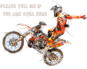 越野摩托车手