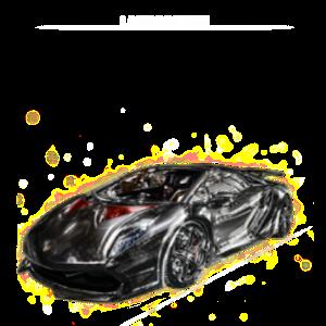 兰博基尼跑车