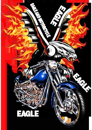 老鹰和摩托