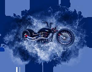 星空摩托车