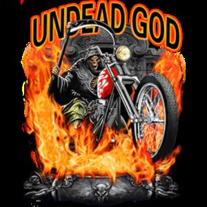 骷髅摩托车