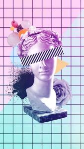 Creative avatar grid